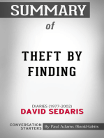 Summary of Theft by Finding