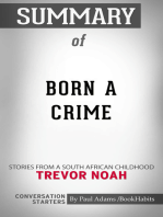 Summary of Born a Crime