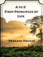 A to Z First Principles of Life