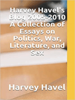 Harvey Havel's Blog, 2005