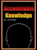Accountable Knowledge