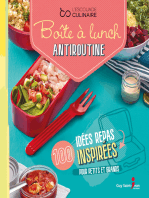 Boîte à lunch antiroutine