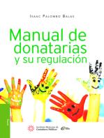 Manual de donatarias y su regulación