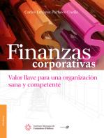 Finanzas corporativas.:  Valor llave para una organización sana y competente
