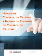 Norma de Control de Calidad y Norma de Revisión de Control de Calidad