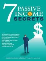 7 Passive Income Secrets