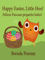 Happy Easter, Little Hoo! / Felices Pascuas pequeño buho!