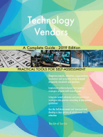 Technology Vendors A Complete Guide - 2019 Edition