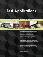 Test Applications A Complete Guide - 2019 Edition