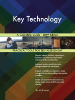 Key Technology A Complete Guide - 2019 Edition