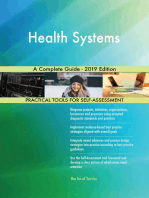 Health Systems A Complete Guide - 2019 Edition