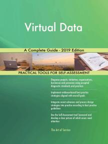 Virtual Data A Complete Guide - 2019 Edition