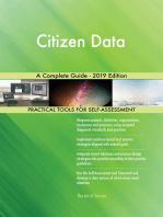 Citizen Data A Complete Guide - 2019 Edition