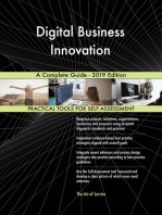 Digital Business Innovation A Complete Guide - 2019 Edition