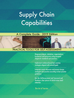 Supply Chain Capabilities A Complete Guide - 2019 Edition