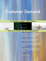 Customer Demand A Complete Guide - 2019 Edition