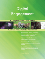 Digital Engagement A Complete Guide - 2019 Edition
