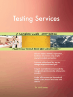 Testing Services A Complete Guide - 2019 Edition