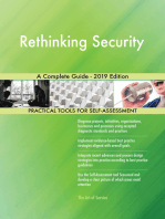 Rethinking Security A Complete Guide - 2019 Edition