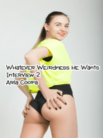 Whatever Weirdness He Wants