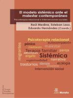 El modelo sistémico ante el malestar contemporáneo: Psicoterapia relacional e intervenciones sociales