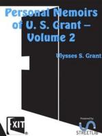 Personal Memoirs of U. S. Grant — Volume 2