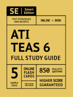 ATI TEAS 6 Full Study Guide 2nd Edition
