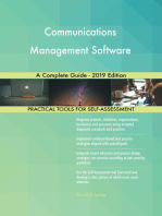 Communications Management Software A Complete Guide - 2019 Edition