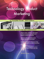 Technology Product Marketing A Complete Guide - 2019 Edition