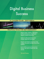Digital Business Success A Complete Guide - 2019 Edition