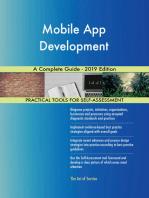 Mobile App Development A Complete Guide - 2019 Edition