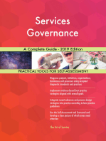 Services Governance A Complete Guide - 2019 Edition