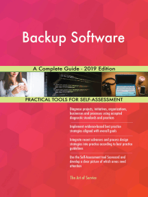 Backup Software A Complete Guide - 2019 Edition