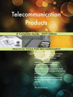 Telecommunication Products A Complete Guide - 2019 Edition