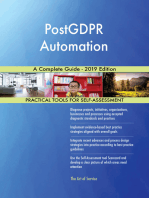 PostGDPR Automation A Complete Guide - 2019 Edition