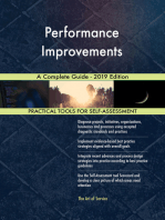 Performance Improvements A Complete Guide - 2019 Edition