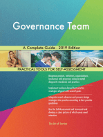 Governance Team A Complete Guide - 2019 Edition
