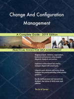 Change And Configuration Management A Complete Guide - 2019 Edition
