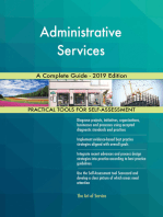 Administrative Services A Complete Guide - 2019 Edition