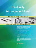 ThirdParty Management Cost A Complete Guide - 2019 Edition