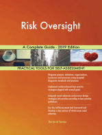 Risk Oversight A Complete Guide - 2019 Edition