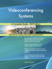 Videoconferencing Systems A Complete Guide - 2019 Edition