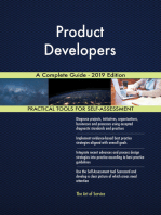 Product Developers A Complete Guide - 2019 Edition