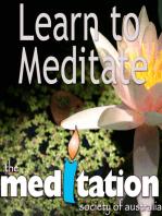 Class 1 - Meditation for Beginners