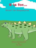 S is for... Stuart the Stegosaurus