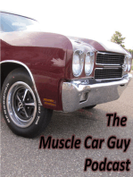 Episode 50 - My Top 10 Muscle Cars