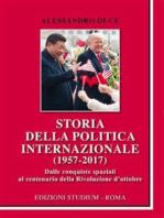 Storia della politica internazionale (1957-2017)