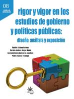 Rigor y vigor en los estudios de gobierno y políticas públicas: diseño, análisis y exposición