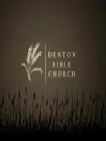01/24/2016 - Denton Bible Church