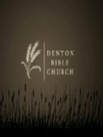 07/22/2007 - God's Grace to the Church Part I - Romans 12:3-8